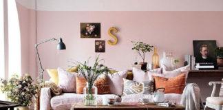 Modny kolor w mieszkaniu - pudrowy róż