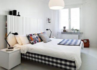 Modne i eleganckie dodatki do sypialni w kolorze czerni