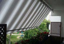 Markiza poręczowa – ekologiczny sposób na walkę z upałem