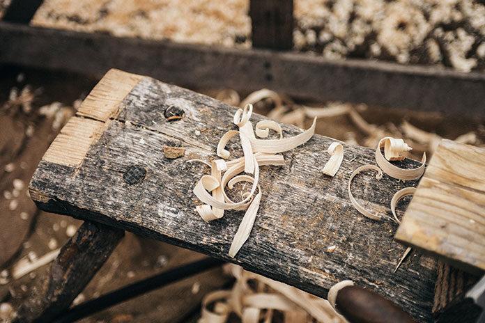 Elementy z drewna
